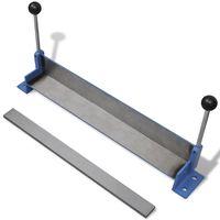 Manuāli darbināma metāla lokšņu liekšanas iekārta, 450 mm