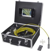 Kamera cauruļu pārbaudei ar DVR kontroles kasti, 30 m