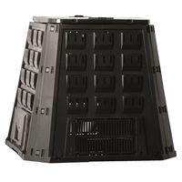 Nature komposta kaste, 400 L, melna, 6071480