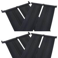 vidaXL saules paneļi baseina sildīšanai, 4 gab., 80x310 cm