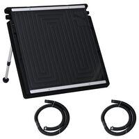 vidaXL saules baseina sildīšanas panelis, 75x75 cm