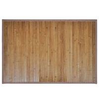 Bambusa vannas istabas paklājs, brūns, 60 x 90 cm