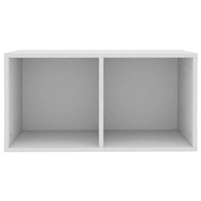 vidaXL vinila plašu uzglabāšanas kaste, 71x34x36 cm, kokskaidu plāksne