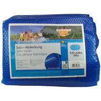 Summer Fun baseina pārklājs, ovāls, 525x320 cm, zils PE