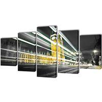 Modulārā Foto Glezna Londonas Big Ben 100 x 50 cm