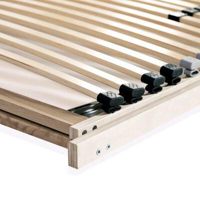 vidaXL gultas redeles, 28 līstītes, 7 zonas, 90x200 cm