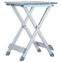 vidaXL kempinga krēsls, 28x26x39 cm, alumīnijs