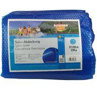 Summer Fun baseina pārklājs, apaļš, 350 cm, zils PE