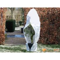 Nature augu ziemas pārsegs, rāvējslēdzējs, 70 g/m², balts, 1,5x1,5x2 m
