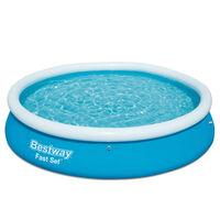 Bestway Fast Set piepūšamais baseins, apaļš, 366x76 cm, 57273