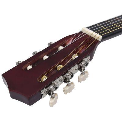 """vidaXL klasiskā ģitāra iesācējiem, 4/4, 39"""", liepa"""