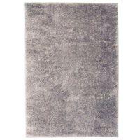 vidaXL paklājs, 120x170 cm, Shaggy, pelēks