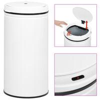 vidaXL automātiska atkritumu tvertne ar sensoru, oglekļa tērauds, 70 L