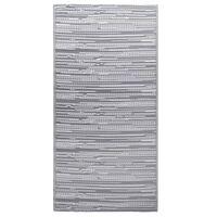 vidaXL āra paklājs, 190x290 cm, pelēks PP
