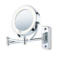 Beurer kosmētiskais spogulis BS59 ar apgaismojumu, sudraba krāsā, 584.10