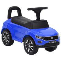 vidaXL stumjams rotaļu auto, Volkswagen T-Roc, zils