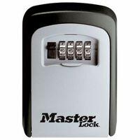 Master lock 5401EURD sienā iemontēta atslēgu skapja kombinācija