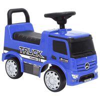 vidaXL stumjams rotaļu auto, Mercedes-Benz Truck, zils