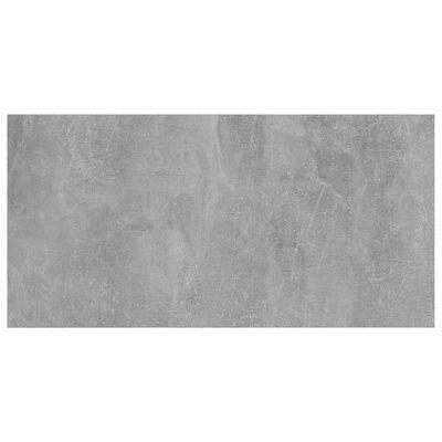 vidaXL plauktu dēļi, 4 gab., betonpelēki, 80x40x1,5 cm, skaidu plāksne