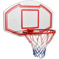 vidaXL basketbola groza komplekts, 3 gab., 90x60 cm