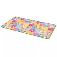vidaXL rotaļu paklājs, 67x120 cm, tauriņu raksts, audums