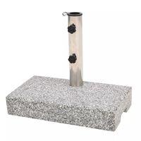vidaXL saulessarga pamatne, taisnstūra forma, 25 kg, granīts