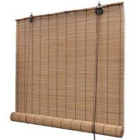 Bambusa Žalūzijas 140 x 160 cm Brūnas